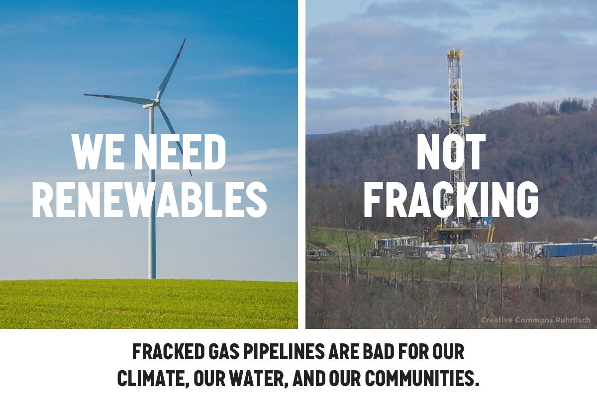 Tell Virginia Senators: Oppose Fracked Gas Pipelines - Oil